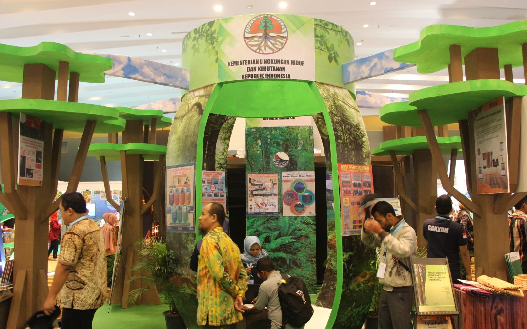 DLH BINJAI HADIRI INDONESIAN CLIMATE CHANGE EDUCATION FORUM & EXPO 2018